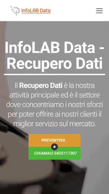 Infolab Data Recupero Dati Hard Disk - Mobile view 1