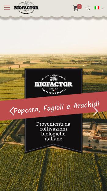 Biofactor Popcorn Biologico - Vista Mobile 1