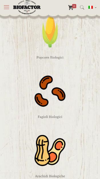 Biofactor Popcorn Biologico - Vista Mobile 2