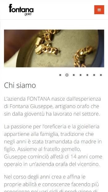Fontana Gold Sliding Ball - Artigiani Orafi - Sito Realizzato da Mikroweb - Mobile View 2