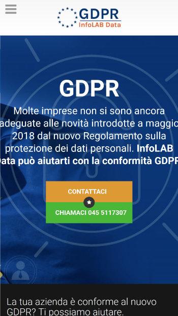 Assistenza GDPR - Gestione Conformità gdpr - Mobile View 1