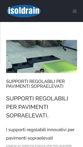 Isoldrain Materiali per l'edilizia a Vallese - Mobile View 3
