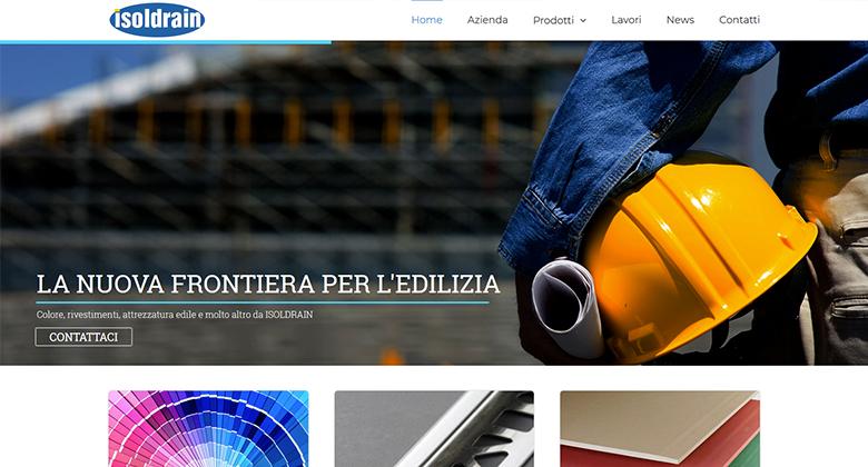 Isoldrain Materiali per l'edilizia a Vallese - Sito Web Realizzato da Mikroweb