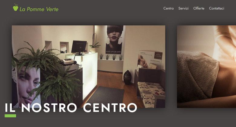 La Pomme Verte - Centro Estetico Verona - Realizzato da Mikroweb