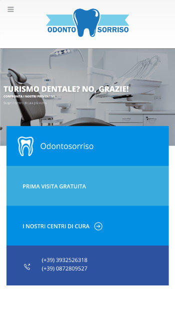 odontosorriso clinica dentale - Mobile view 1