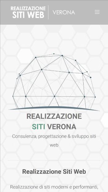 Realizzazione siti web verona - mobile view 1