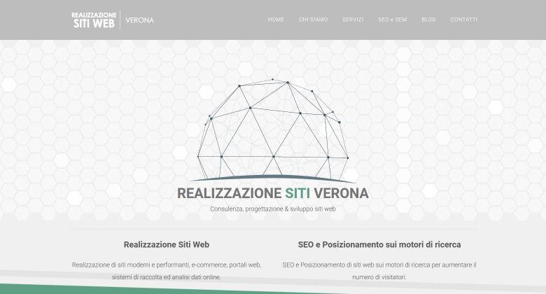 Realizzazione siti web Verona